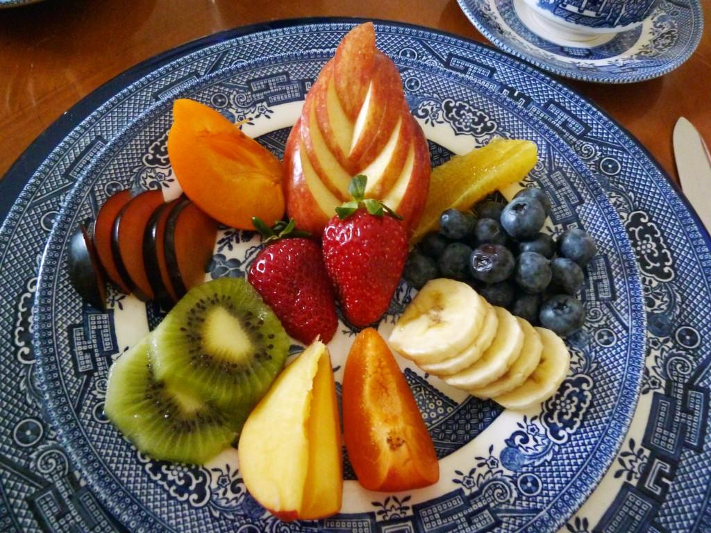 Healthy Fruit Breakfast  Breakfast