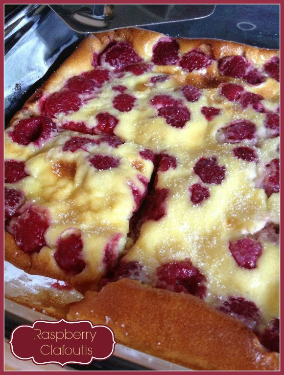 Healthy Fruit Dessert Recipes  Healthy Fruit Dessert Raspberry Clafoutis Recipe Our