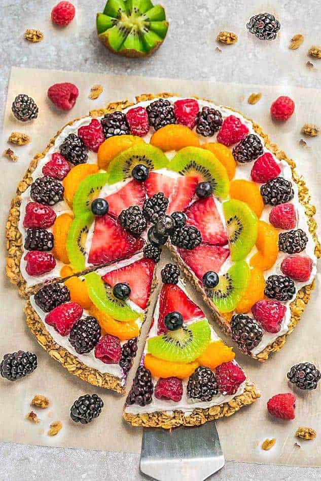 Healthy Fruit Desserts  Healthy Fruit Pizza 2 Ways Recipe VIDEO Life Made