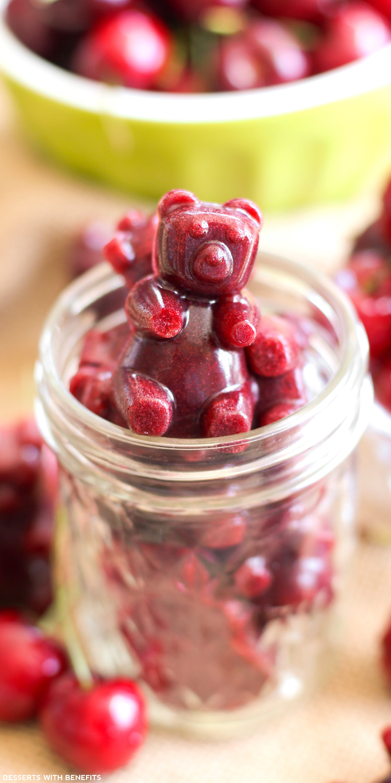 Healthy Fruit Desserts No Sugar  Healthy Cherry Fruit Snacks Recipe