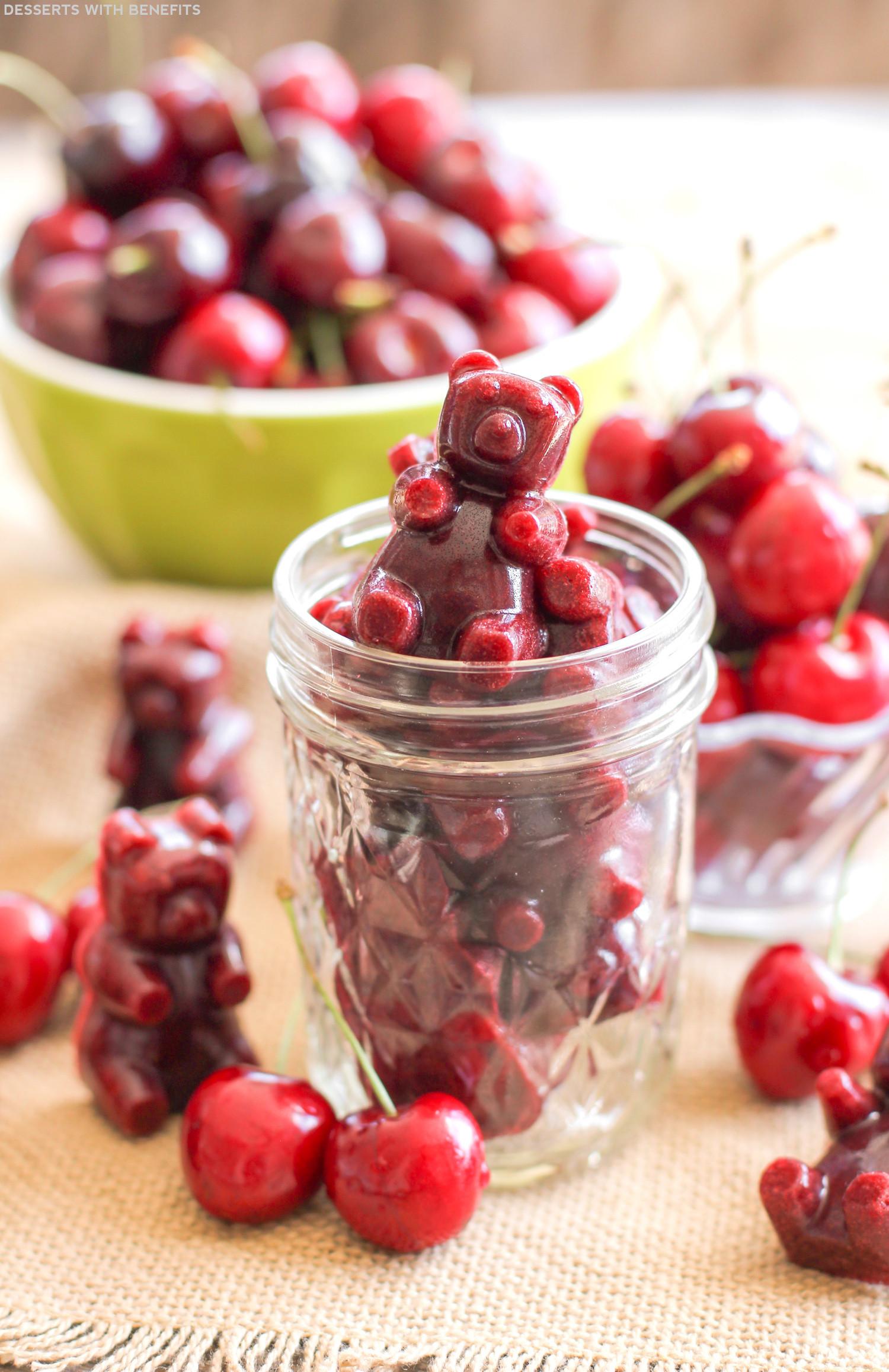 Healthy Fruit Desserts No Sugar  Healthy Very Cherry Fruit Snacks Recipe