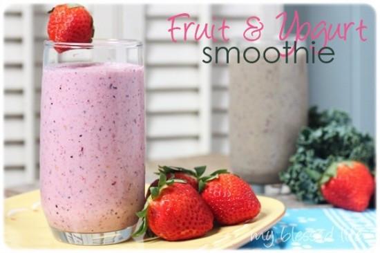 Healthy Fruit Smoothies With Yogurt  recipes – Nurture Mama