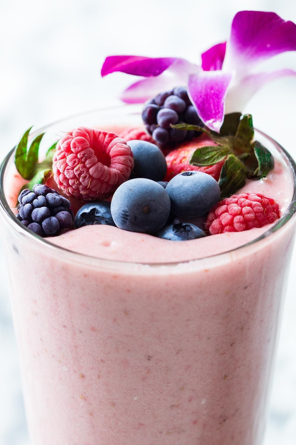 Healthy Fruit Smoothies With Yogurt  Strawberry Smoothie Without Yogurt Green Healthy Cooking