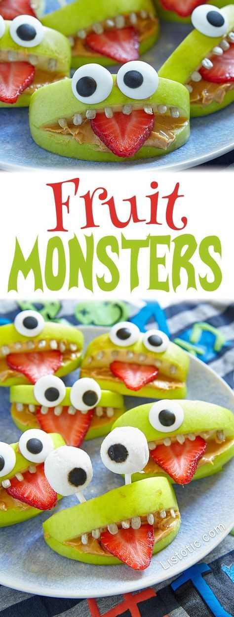 Healthy Fruit Snacks For Adults  The 25 best Healthy halloween snacks ideas on Pinterest