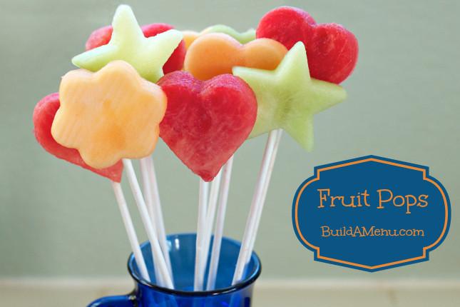 Healthy Fruit Snacks For Kids  Build A Menu Blog Blog Archive Fruit Pops a healthy