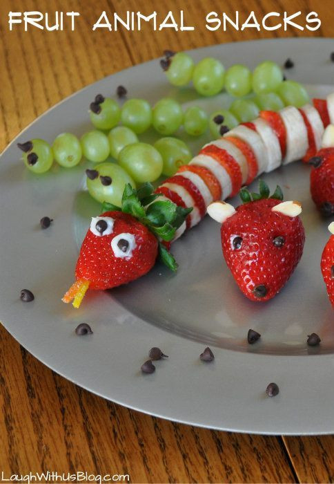 Healthy Fruit Snacks For Kids  25 Fun and Healthy Snacks for Kids Double the Batch
