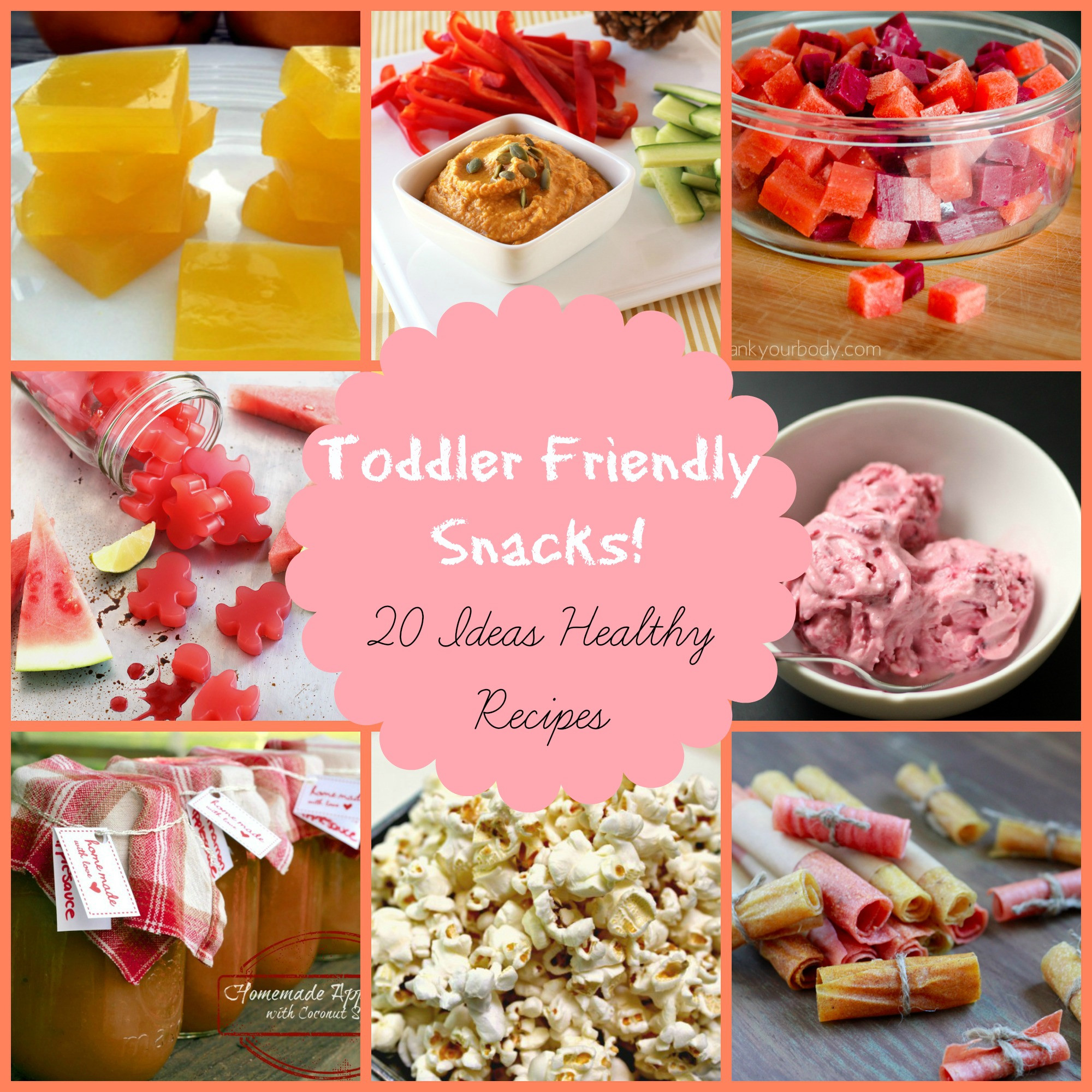 Healthy Fun Snacks For Kids  Healthy Snacks for Kids 20 toddler friendly ideas
