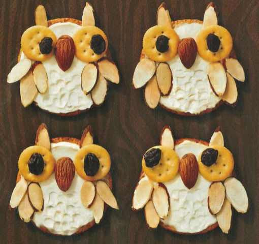 Healthy Fun Snacks For Kids  Healthy Fun and Cute Snack idea Whooo's hungry owl