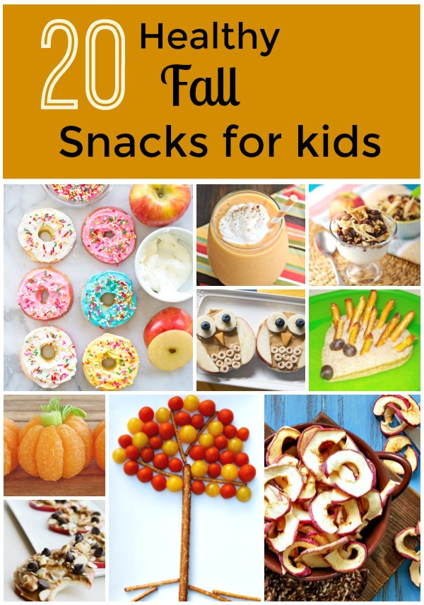 Healthy Fun Snacks For Kids  20 Healthy Fall Snacks for Kids Fantastic Fun & Learning