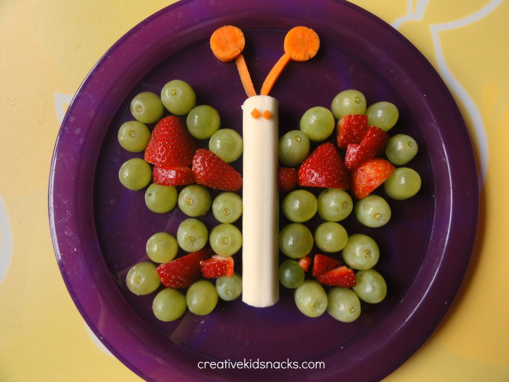 Healthy Fun Snacks For Kids  Butterfly