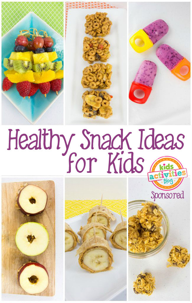 Healthy Fun Snacks For Kids  Healthy Snack Ideas for Kids