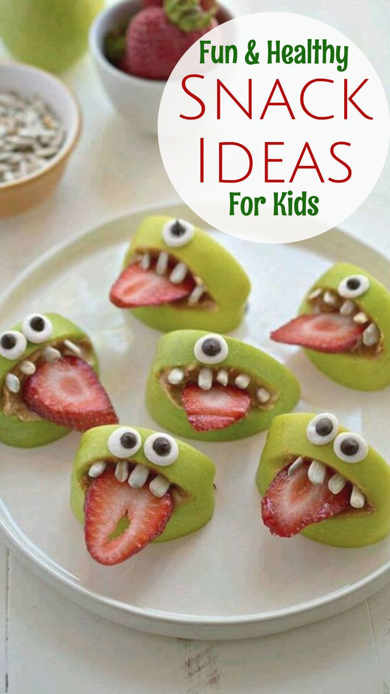 Healthy Fun Snacks For Kids  19 Healthy Snack Ideas Kids WILL Eat Healthy Snacks for