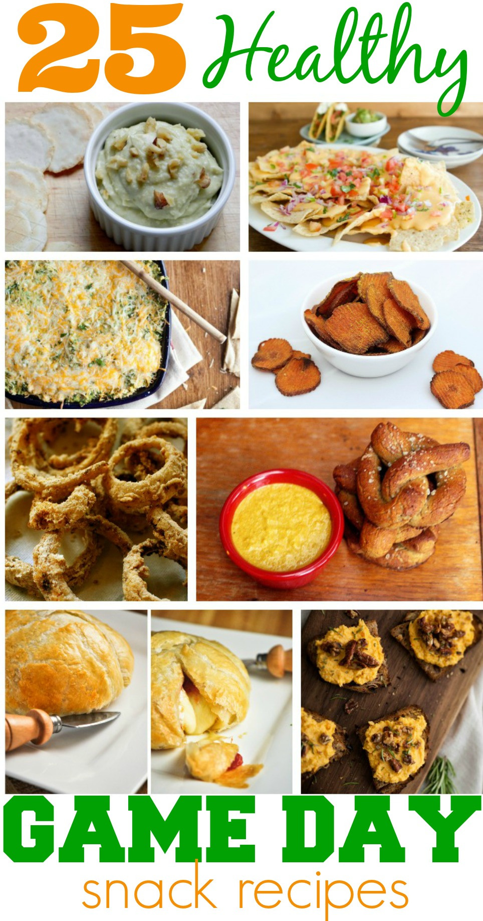 Healthy Game Day Snacks  25 Healthy Game Day Snack Recipes Perfect for the Super