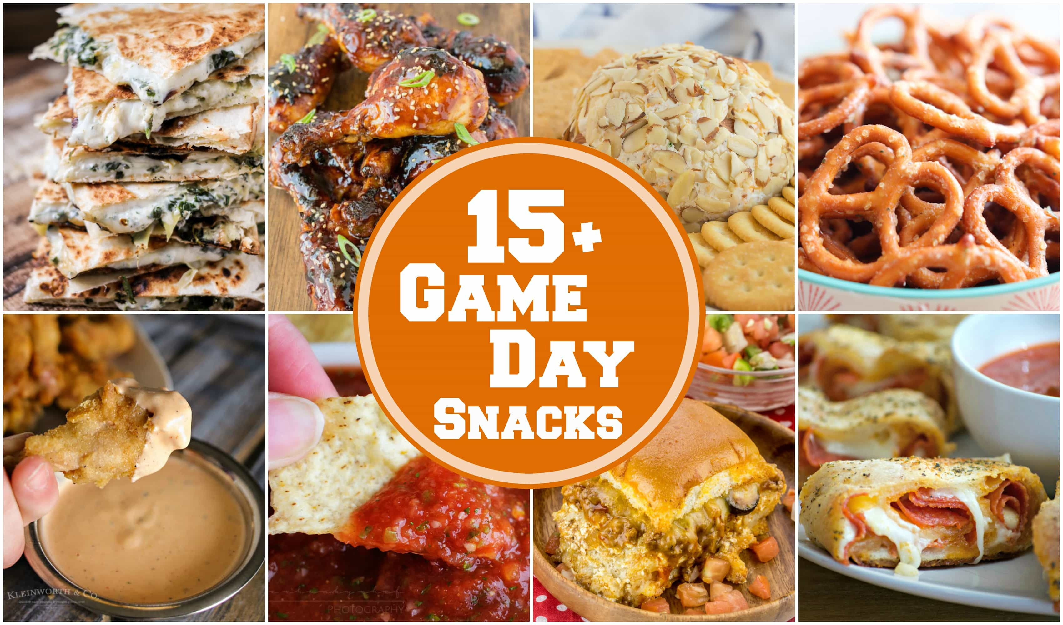 Healthy Game Day Snacks  15 EASY Game Day Snacks Yummy Healthy Easy