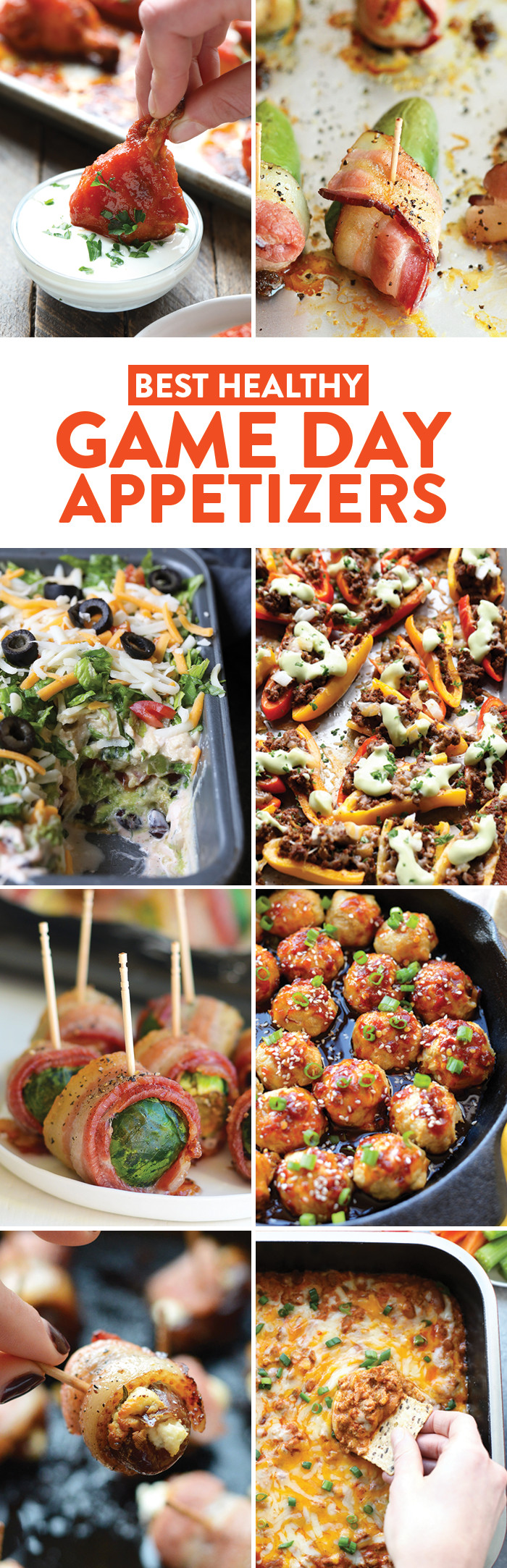 Healthy Game Day Snacks  Best Appetizers for a Healthy Game Day Fit Foo Finds
