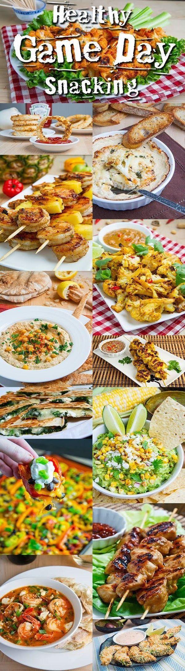 Healthy Game Day Snacks  Healthy Game Day Snacks – Edible Crafts