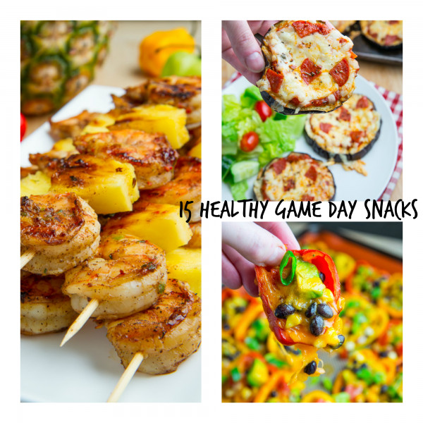 Healthy Game Day Snacks  15 Healthy Game Day Snacks
