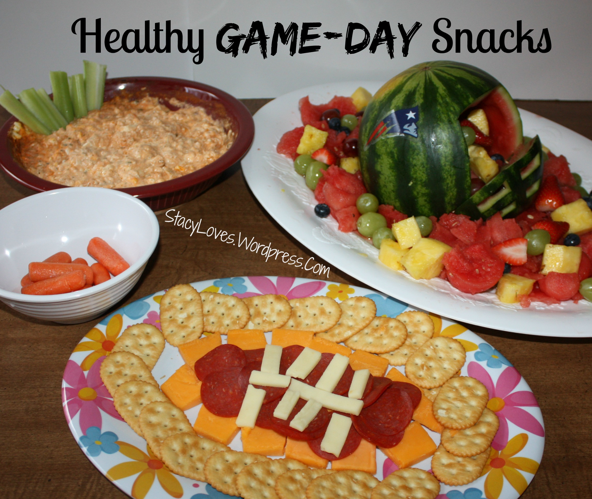 Healthy Game Day Snacks  healthy football snacks
