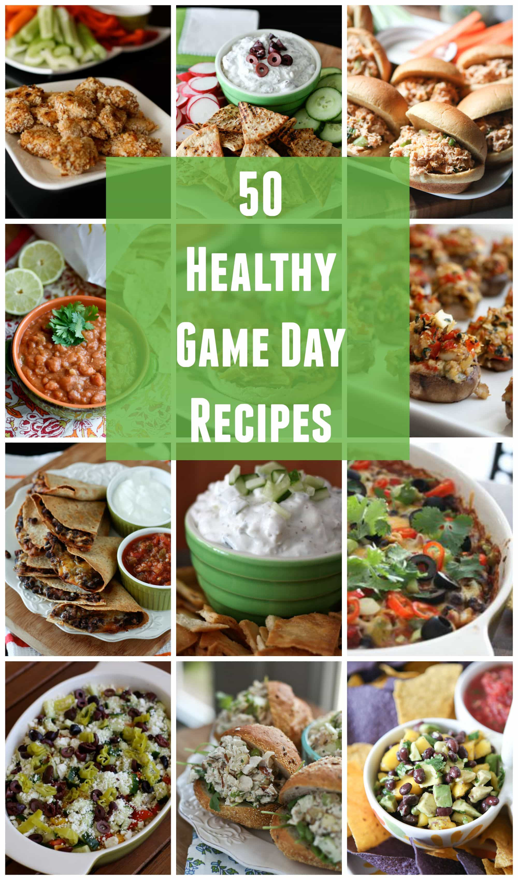 Healthy Game Day Snacks  low calorie game day snacks