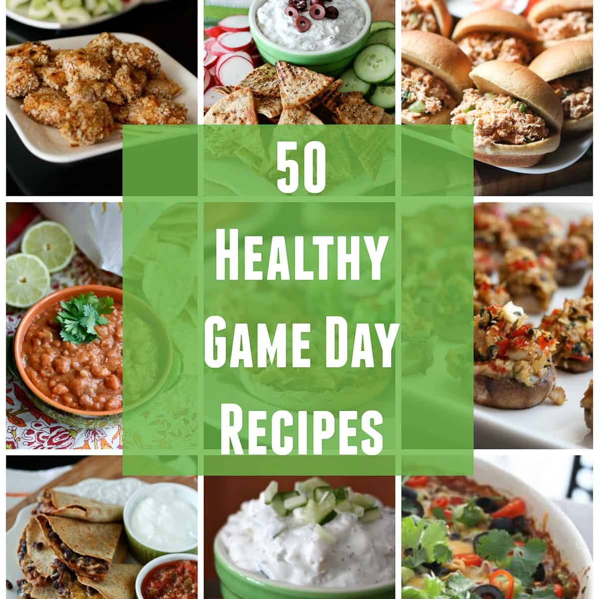 Healthy Game Day Snacks  50 Healthy Game Day Recipes
