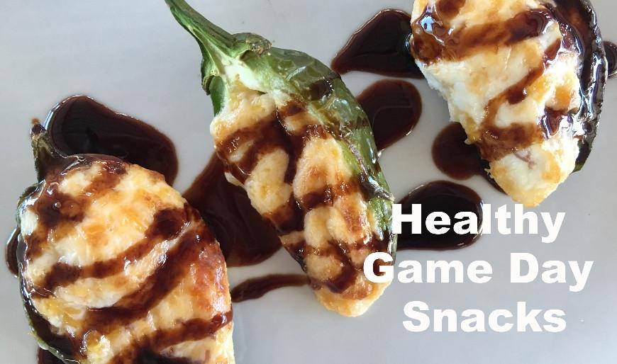 Healthy Game Day Snacks  Healthy Game Day Snacks