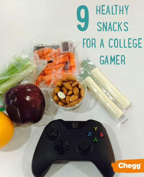 Healthy Gaming Snacks  9 Healthy No Mess Snacks Perfect for College Gamers