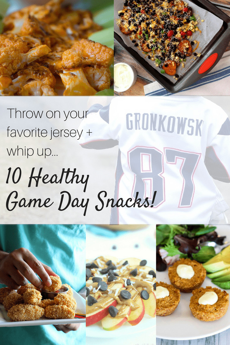 Healthy Gaming Snacks  Grab your favorite jersey and enjoy 10 healthy game day