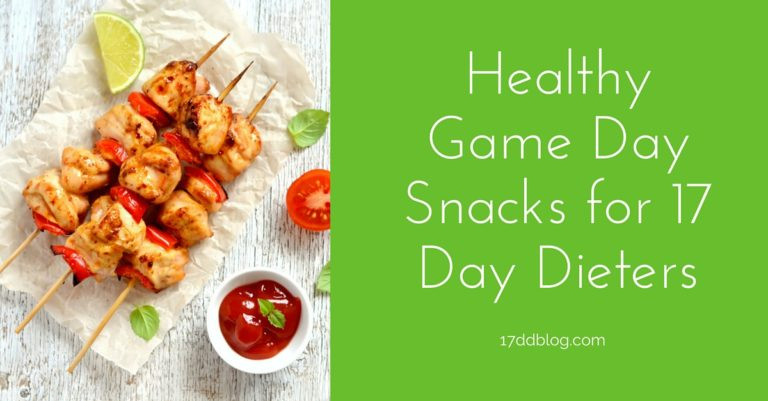 Healthy Gaming Snacks  Healthy Game Day Snacks for 17 Day Dieters