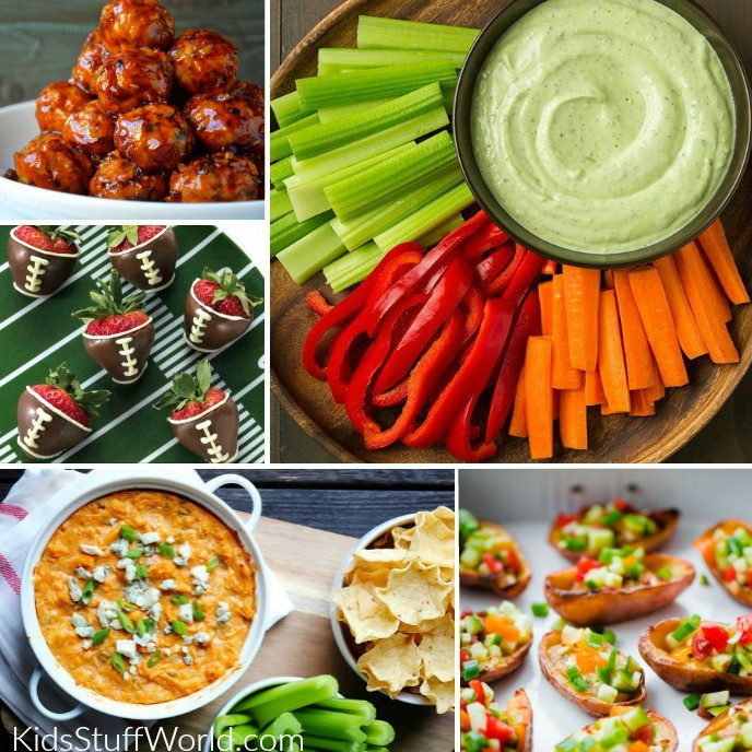 Healthy Gaming Snacks  Healthier Super Bowl Appetizers & Game Day Food