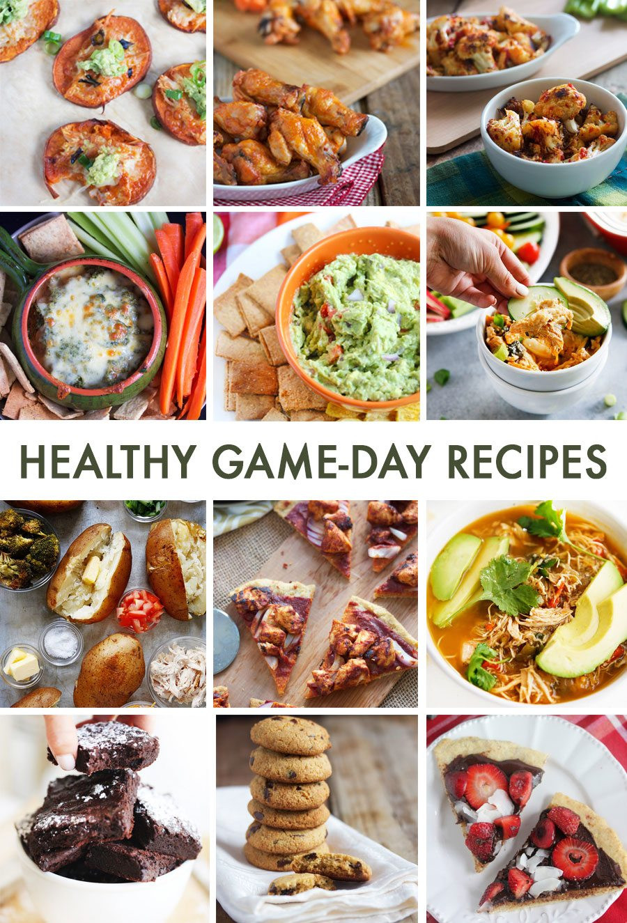 Healthy Gaming Snacks  Healthy Game Day Recipes Perfect For Football Entertaining