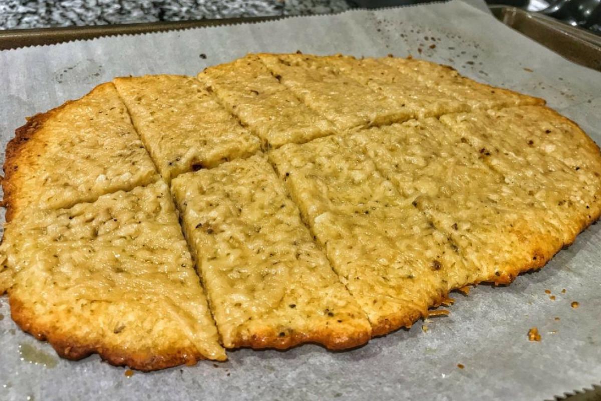 Healthy Garlic Bread Recipe  Lower Calorie High Protein Cheesy Garlic Bread Recipe