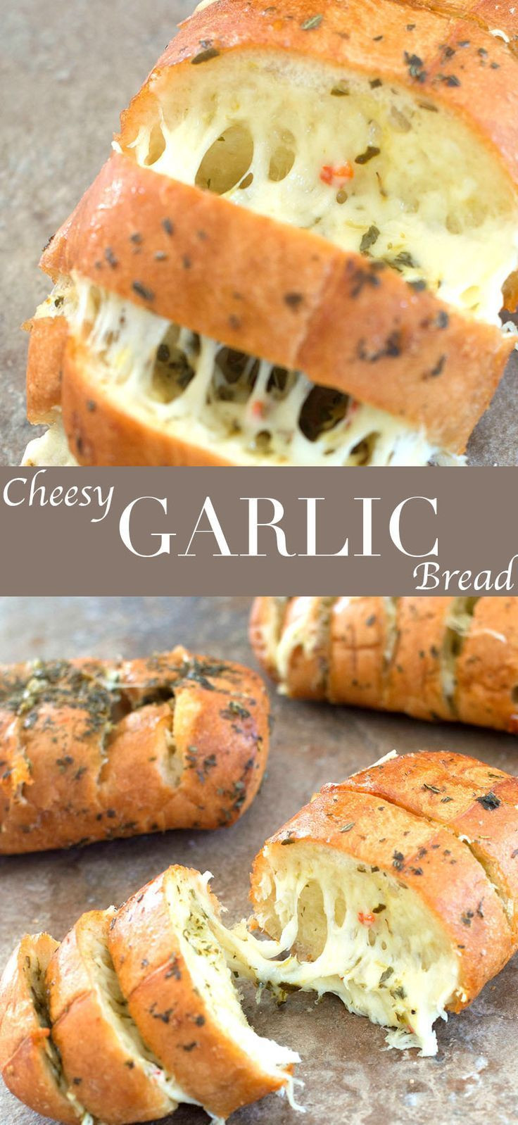 Healthy Garlic Bread Recipe  Cheesy Garlic Bread With Italian Spices Recipe