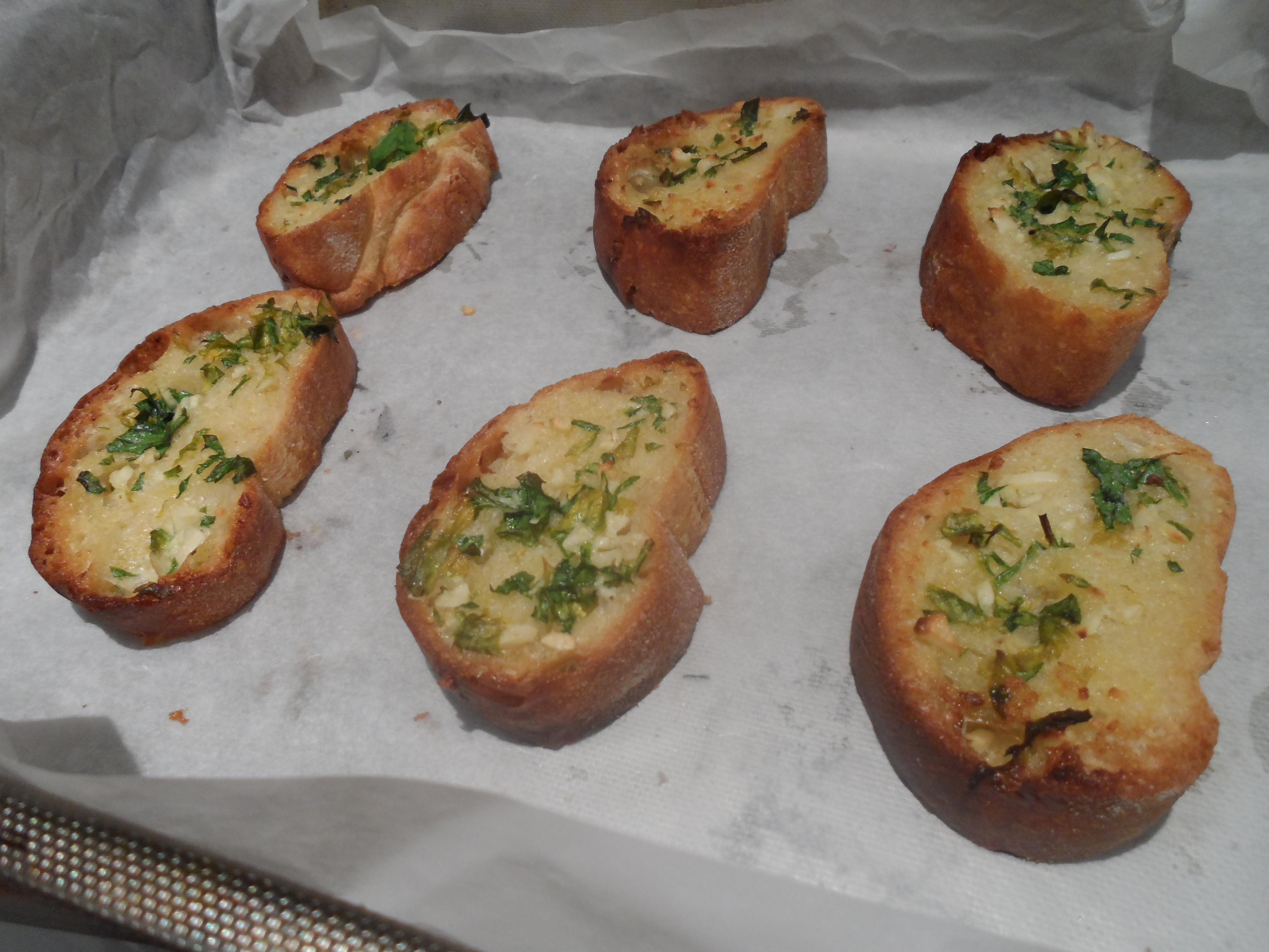 Healthy Garlic Bread Recipe  Homemade garlic Bread The healthy hangover