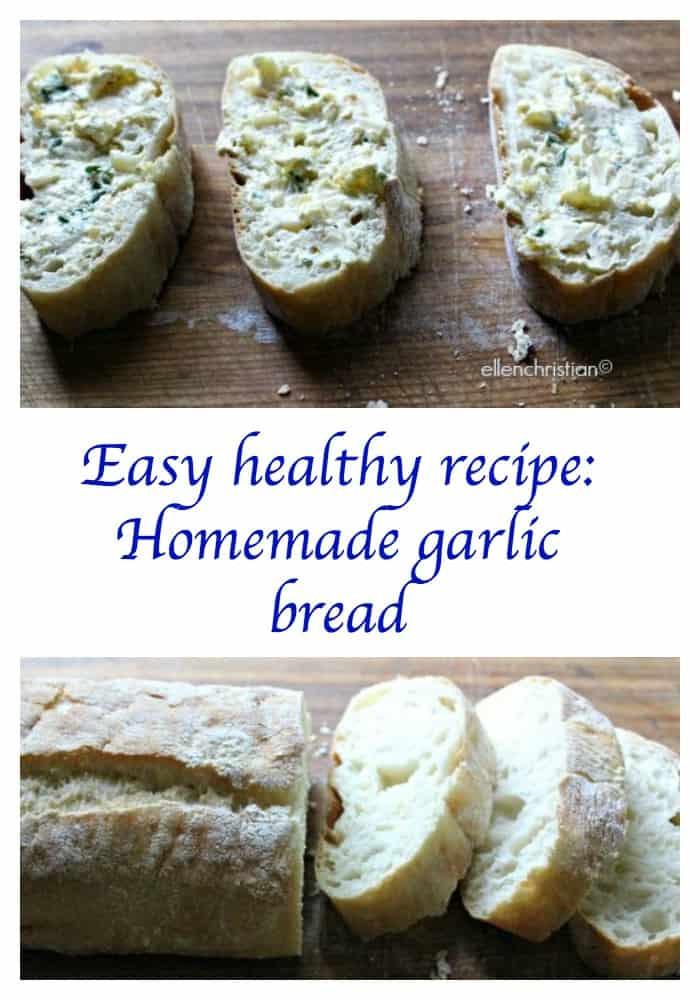 Healthy Garlic Bread Recipe  Easy healthy recipe Homemade garlic bread Our Family World