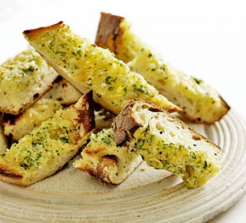 Healthy Garlic Bread Recipe  Garlic bread toasts recipe