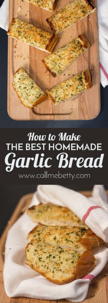 Healthy Garlic Bread Recipe  754 best images about Recipes Breads on Pinterest