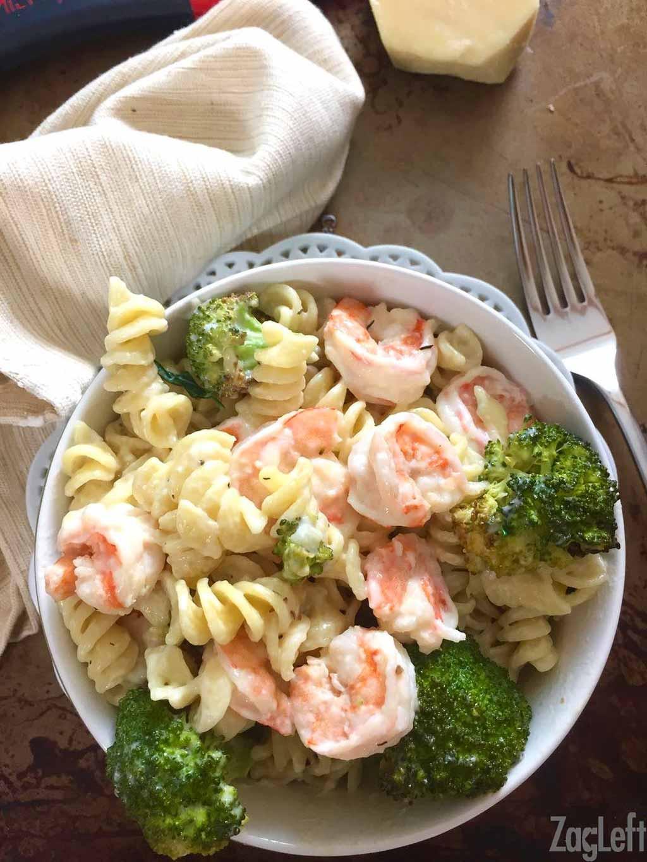 Healthy Garlic Shrimp Pasta  Roasted Broccoli and Garlic Shrimp Pasta ZagLeft