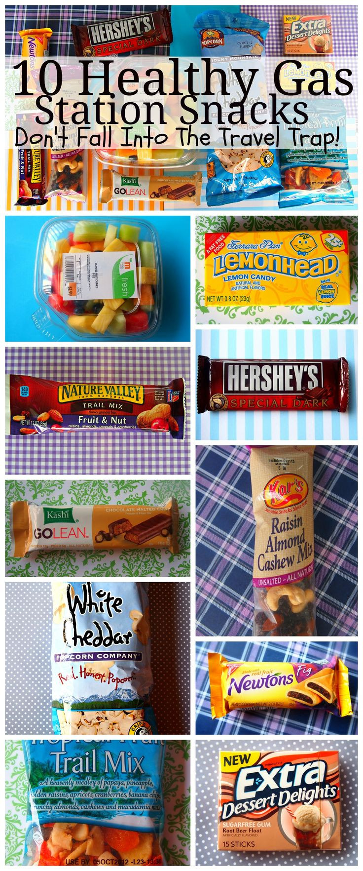 Healthy Gas Station Snacks  46 best images about Fitness campaigns on Pinterest