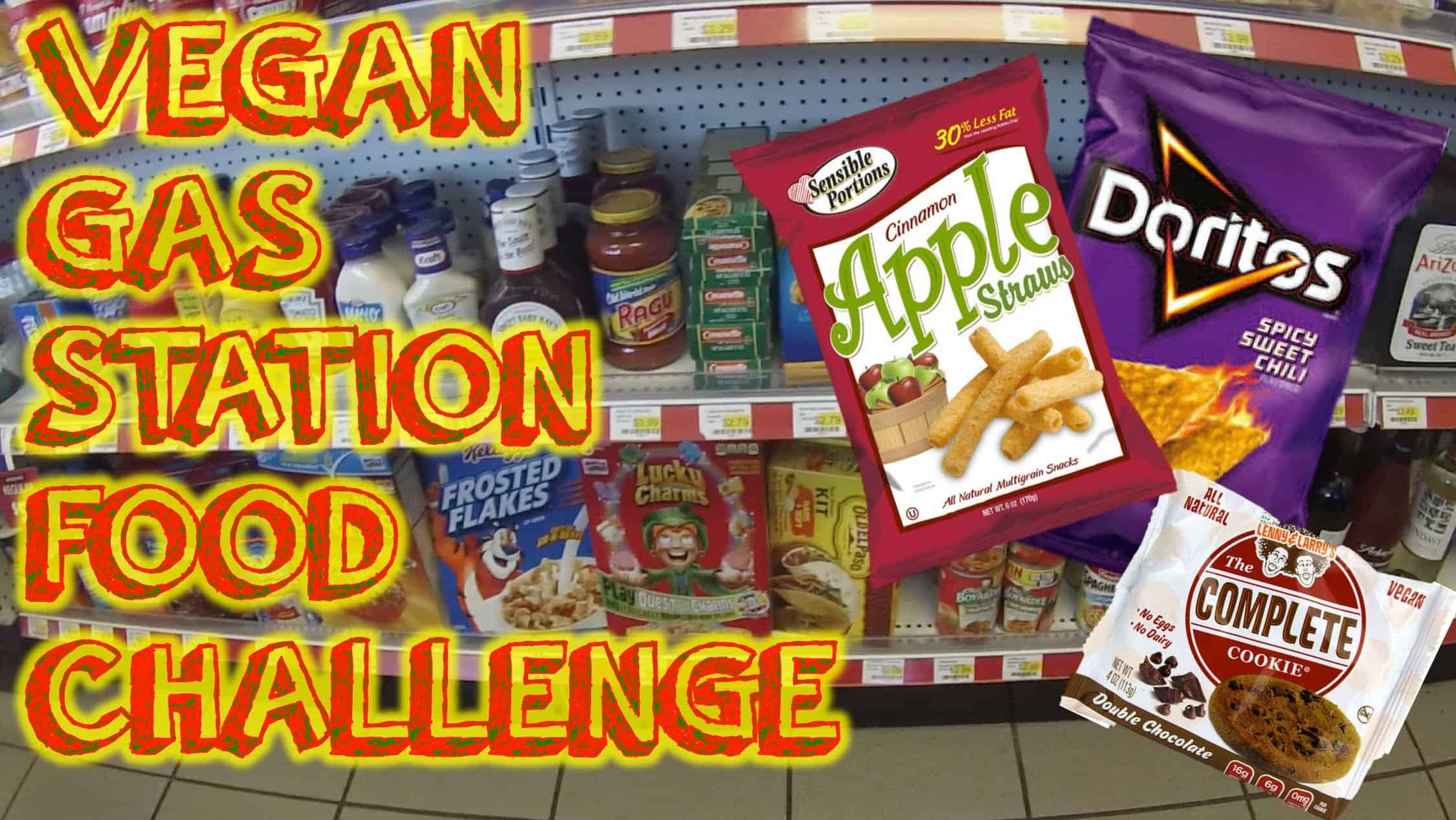Healthy Gas Station Snacks  Vegan Gas Station Food Challenge