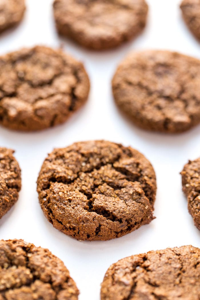 Healthy Ginger Molasses Cookies  Healthy Chewy Ginger Molasses Cookies Simply Quinoa