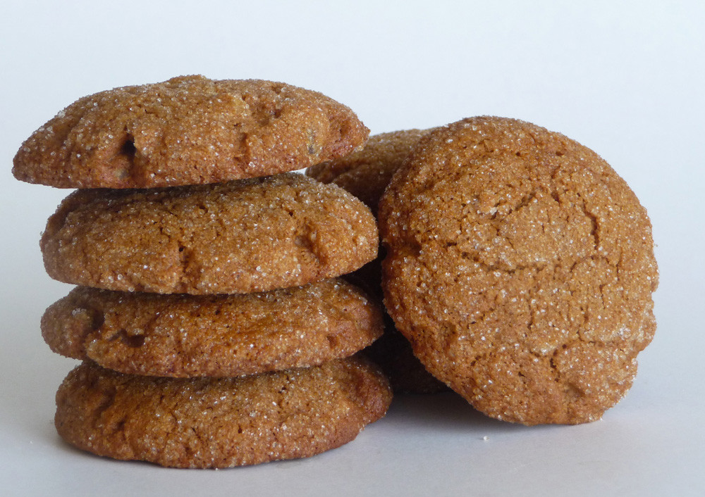 Healthy Ginger Molasses Cookies  Crispy Ginger Molasses Cookies Everyday Healthy