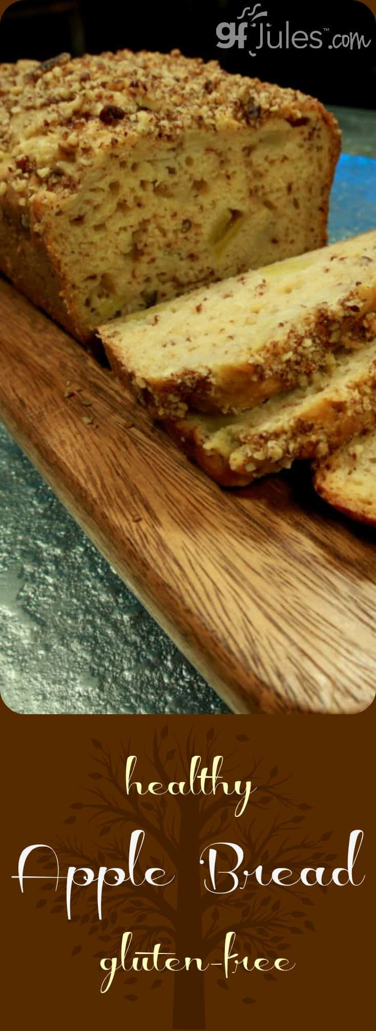 Healthy Gluten Free Bread  Healthy Gluten Free Apple Bread gfJules