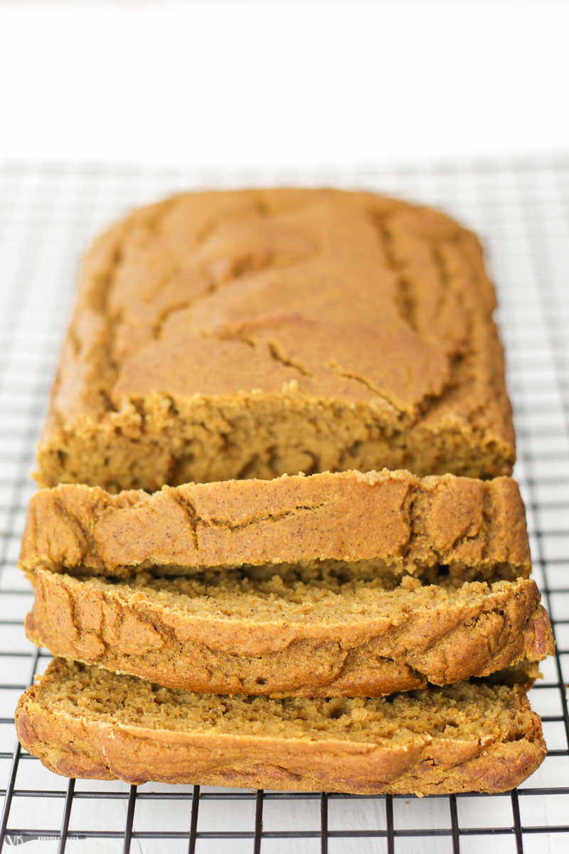 Healthy Gluten Free Bread Recipe  Gluten Free Pumpkin Bread Recipe made Healthy VeggieBalance