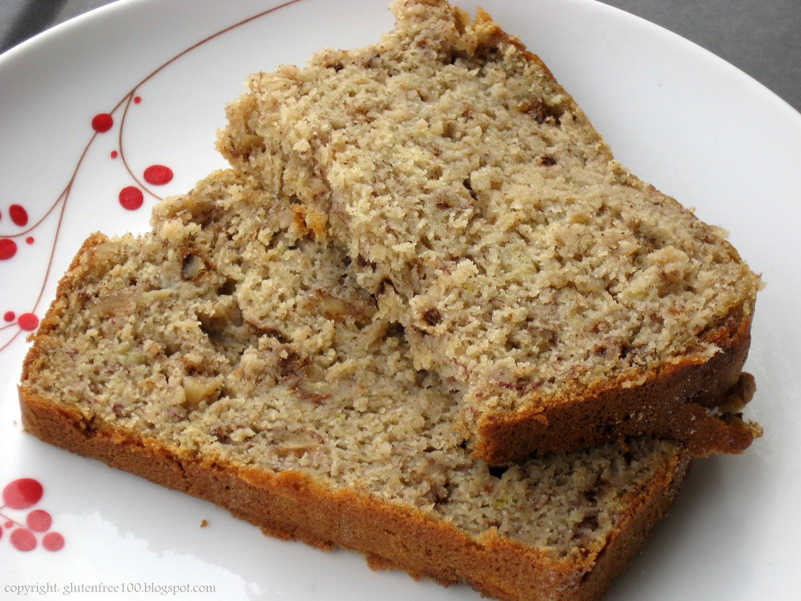 Healthy Gluten Free Bread Recipe  Healthy Banana Bread Recipe gluten free