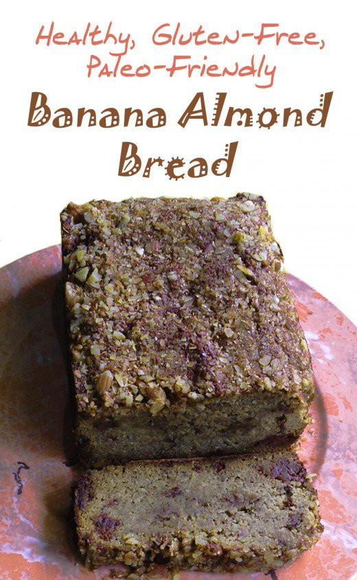 Healthy Gluten Free Bread Recipe  Healthy Gluten Free Paleo Banana Almond Bread Recipe