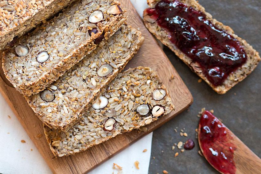 Healthy Gluten Free Bread Recipes  best gluten free bread recipe overhead The Healthy Tart