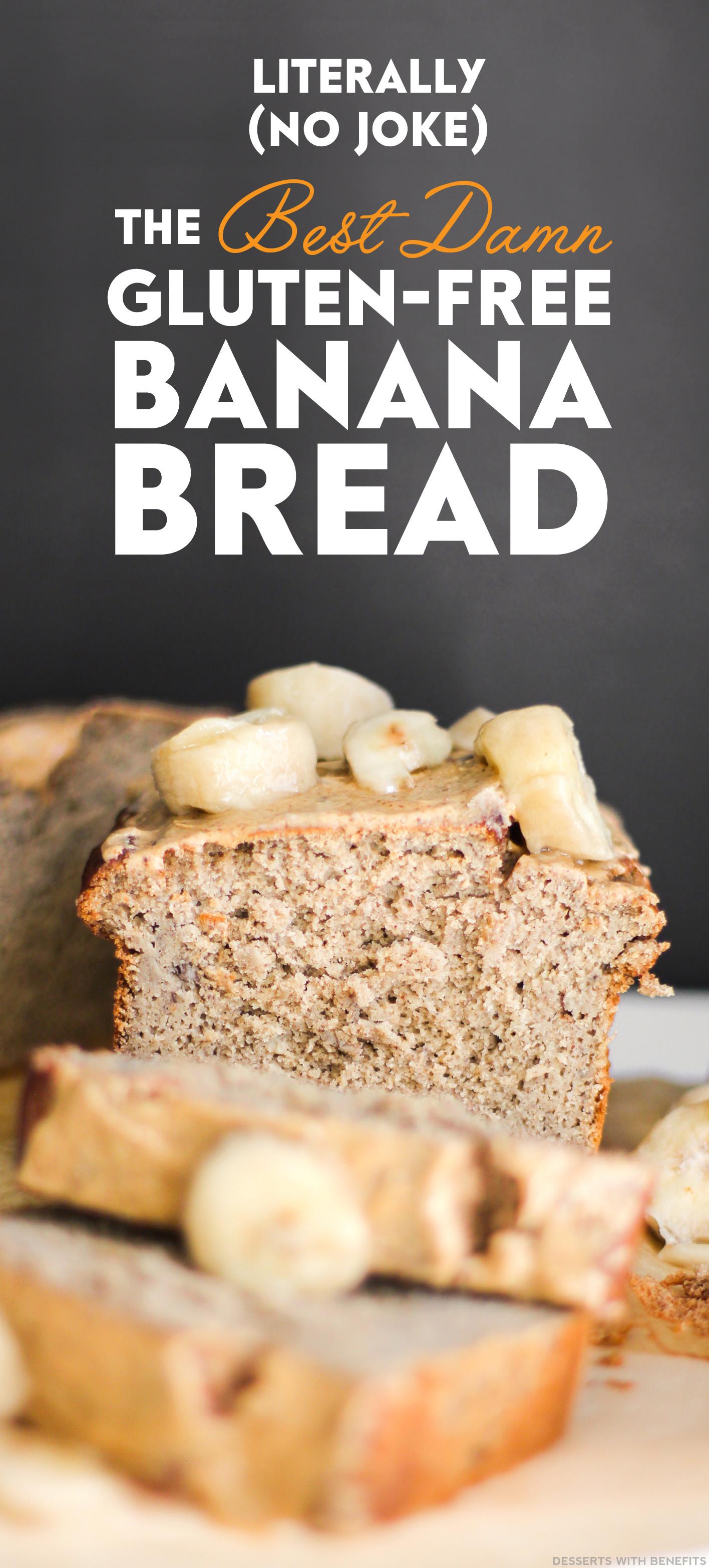 Healthy Gluten Free Bread Recipes  Desserts With Benefits Healthy Banana Bread refined sugar