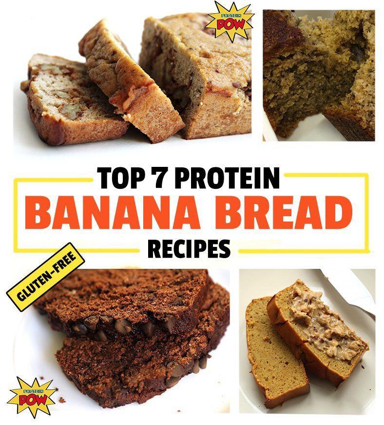 Healthy Gluten Free Bread Recipes  Top 5 Healthy Protein Banana Bread Recipes Gluten Free