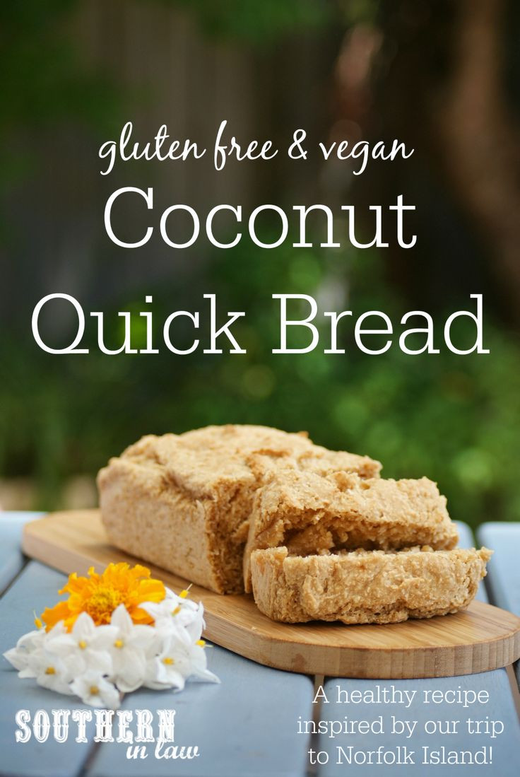 Healthy Gluten Free Bread Recipes  Recipe Gluten Free Coconut Bread inspired by Norfolk
