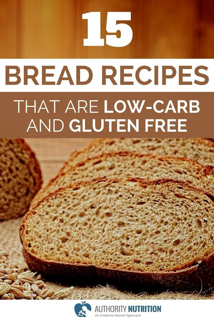 Healthy Gluten Free Bread Recipes  This is a list of 15 recipes for healthy low carb and